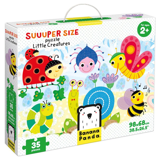 Little Creatures 35pc  Suuuper Size Puzzle