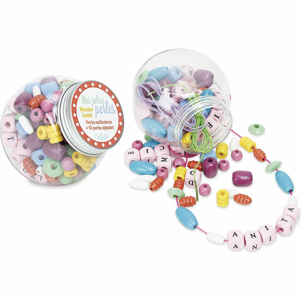 Sweet Multicolor & Alphabet Beads