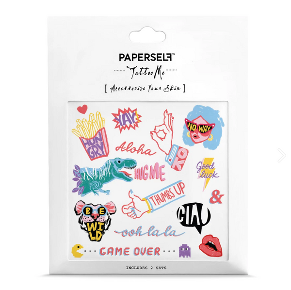 Talk Out Load Temporary Tattoos