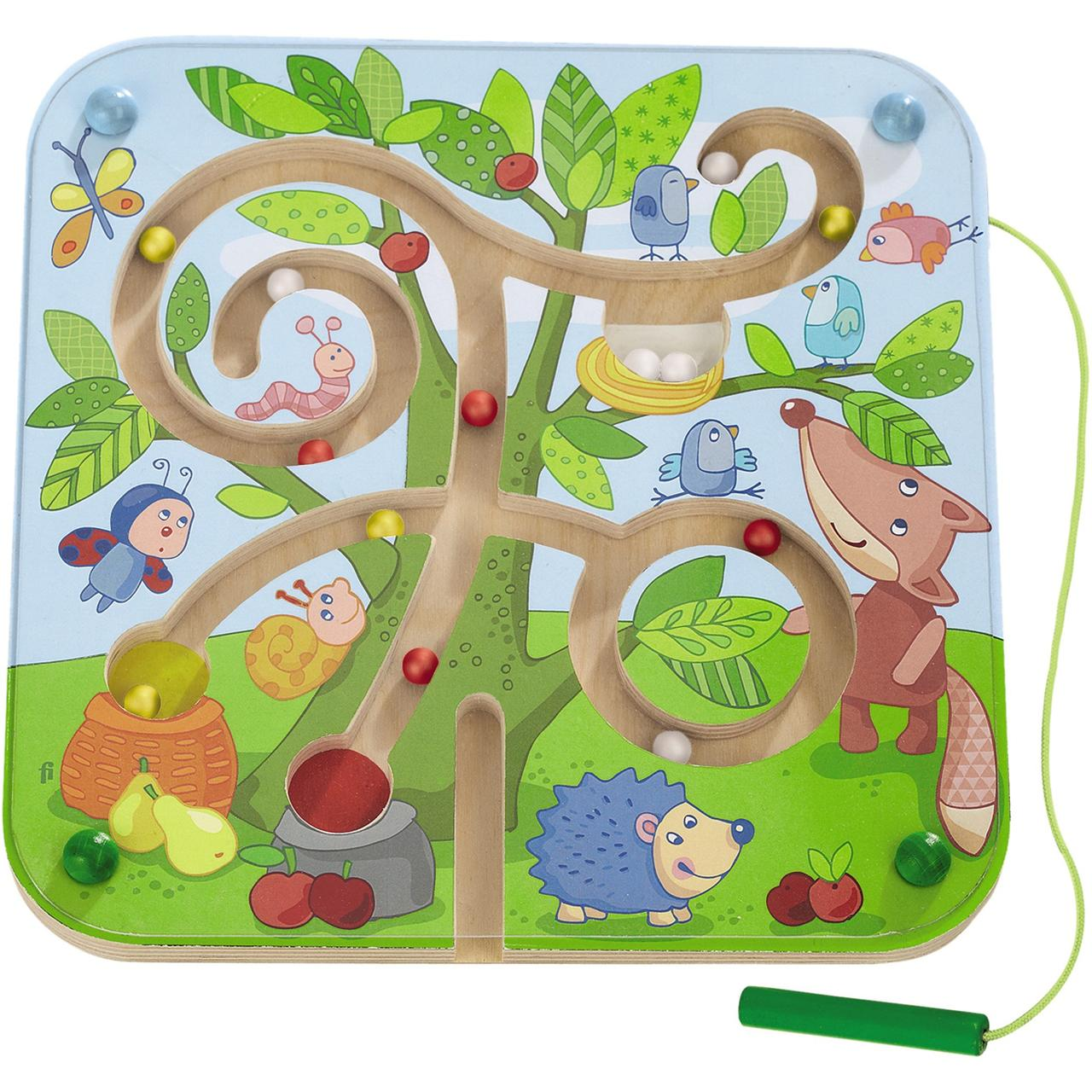 Tree Magnetic Maze Game