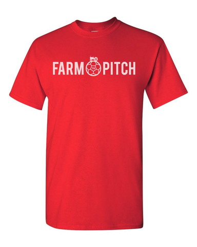 FARM TO PITCH T-SHIRT - RED