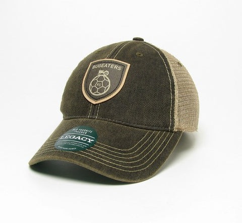 BADGE TRUCKER HAT BY LEGACY - BLACK