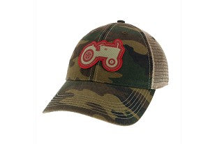TRACTOR TRUCKER HAT BY LEGACY - CAMO