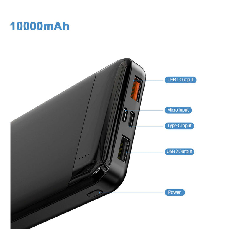 2-Port Ultra Portable Phone Charger Power Bank