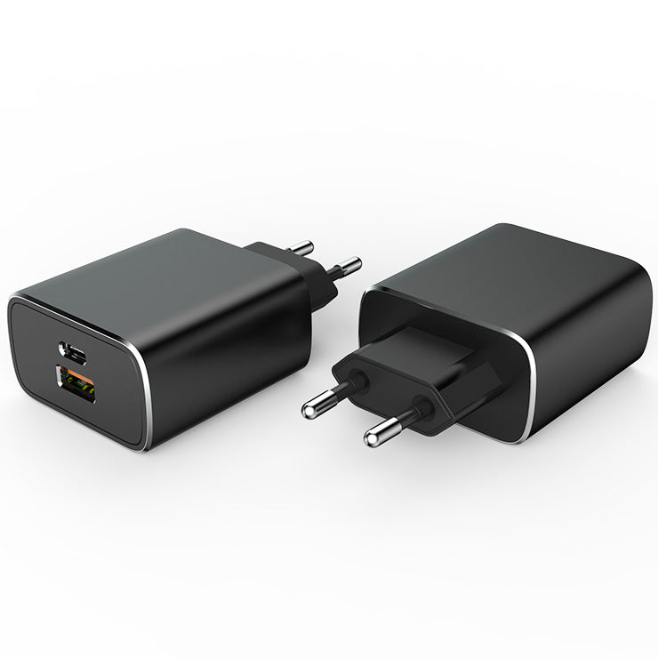 28W Type C with USB Dual Port Wall Charger