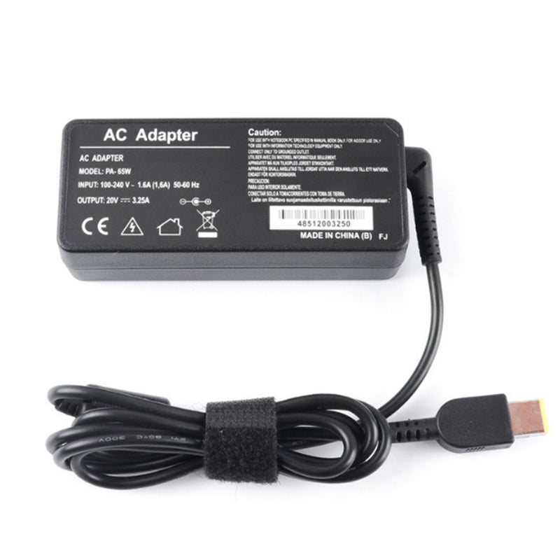 65W 20V 3.25A AC Adapter Laptop Charger for Lenovo
