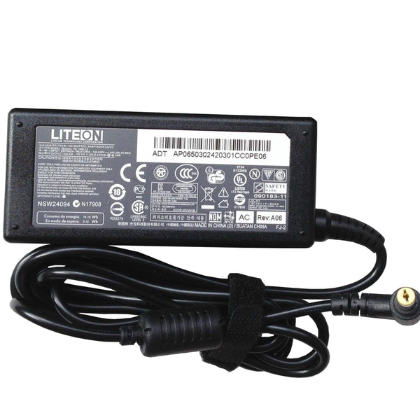 Liteon Acer 65W 19V 3.42A Original Power Adapter