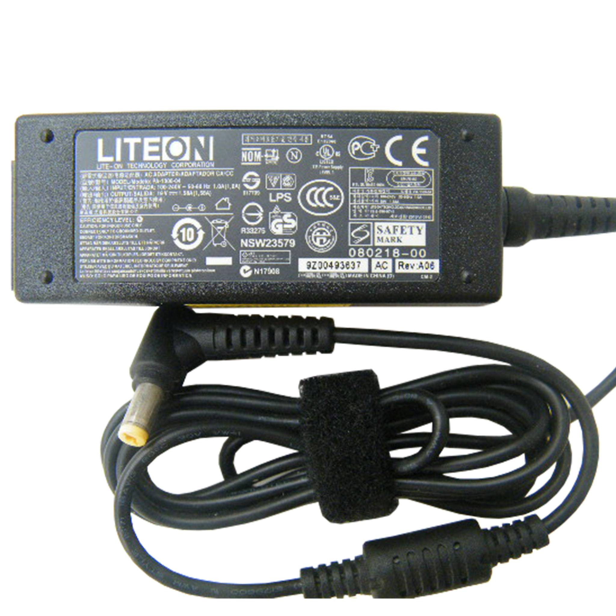 Liteon 19V 1.58A 30W Original AC Adapter for Acer Aspire One