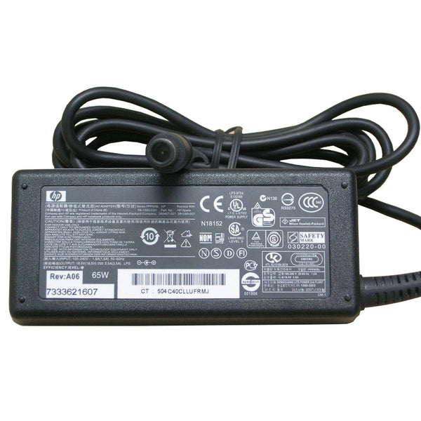 HP 18.5V 3.5A 65W Original Power Adapter (7.4mmx5.0mm)