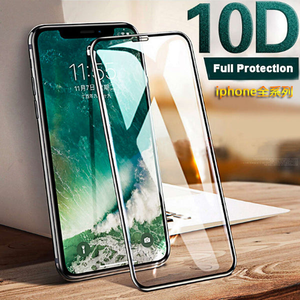 300PCS Glass Screen Protector for iPhone Full Protection Durable Tempered Glass
