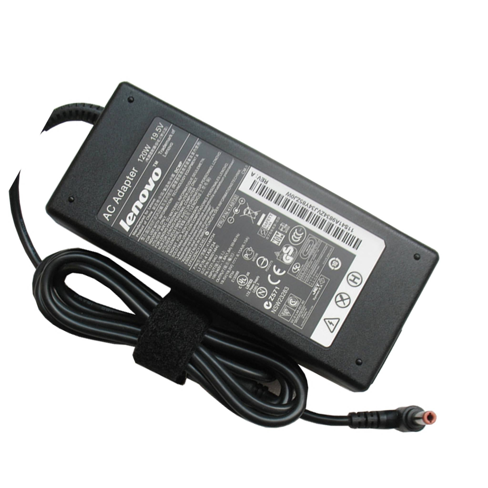 Lenovo 120W Original AC Adapter Laptop Charger 19.5V 6.15A