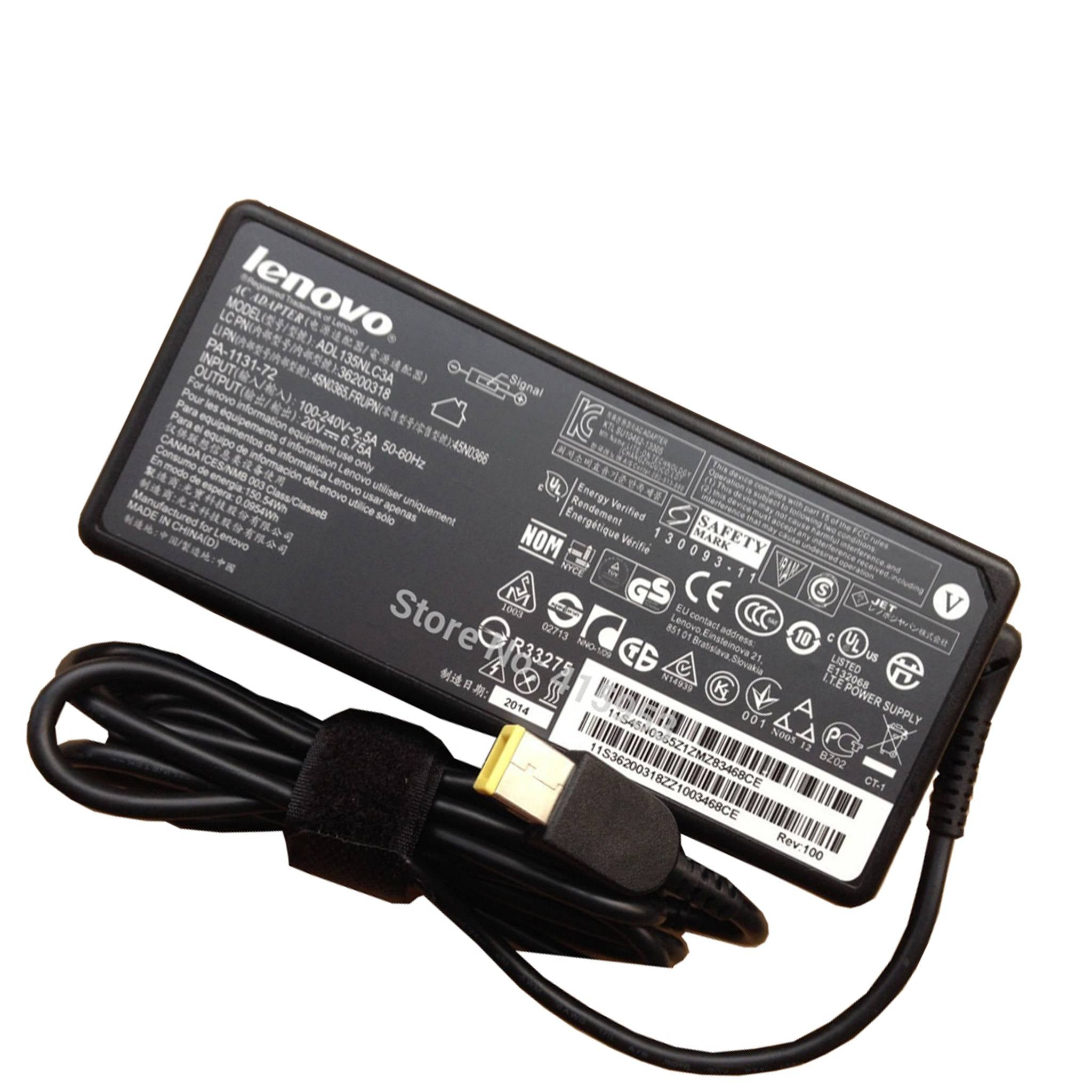 Lenovo 135W 20V 6.75A Original Laptop AC Adapter