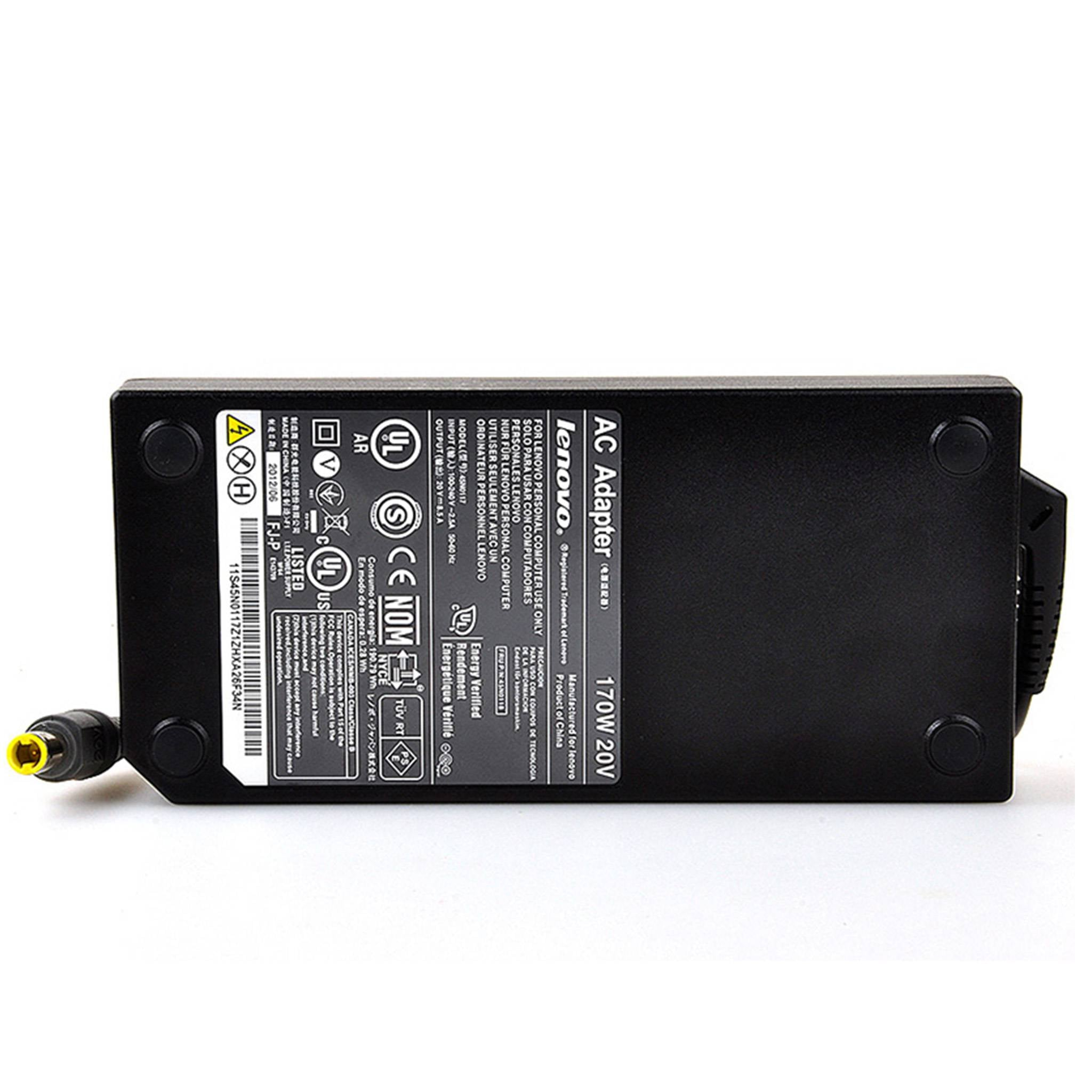 Lenovo ThinkPad W520 W530 20V 8.5A 170W AC Adapter