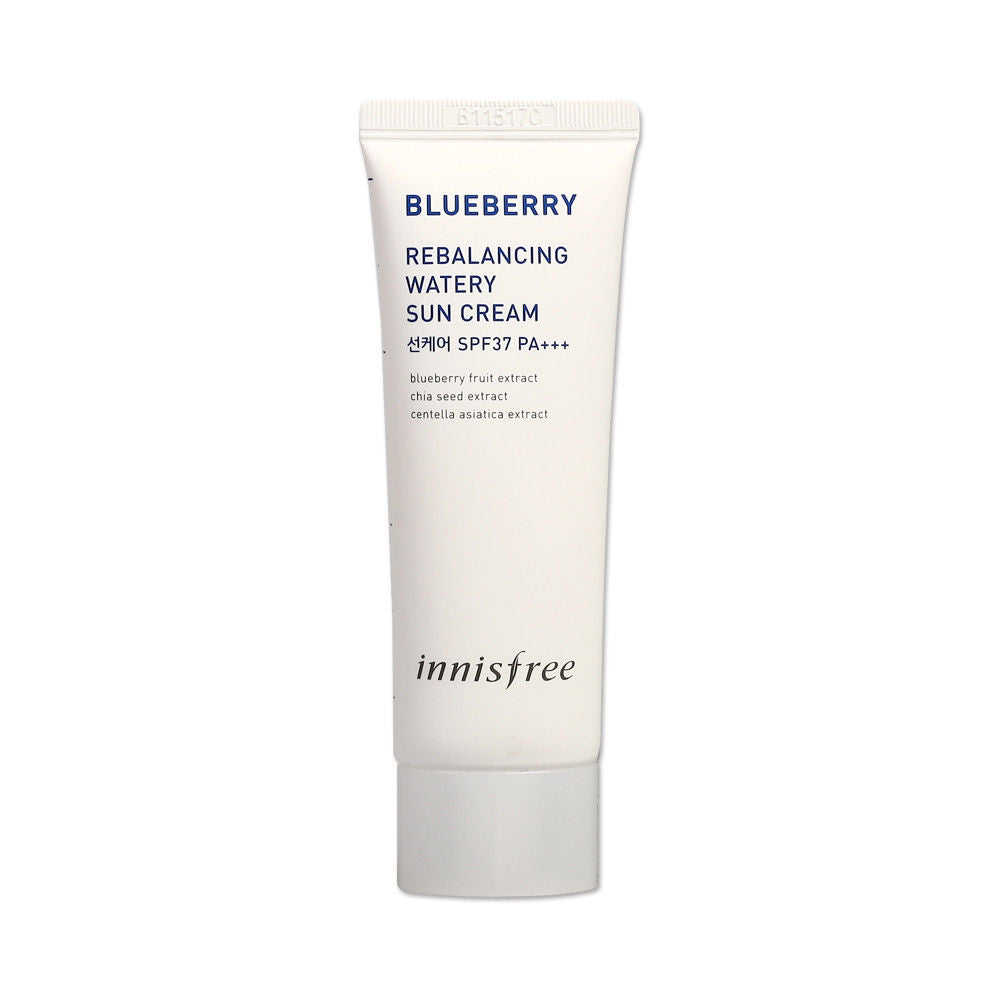 BLUEBERRY REBALANCING WATERY SUN CREAM SPF 37 PA+++