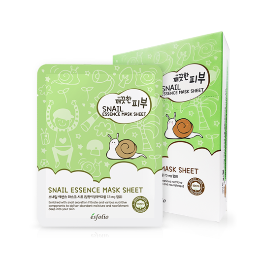 Pure Skin Essence Mask Sheet (Snail) 10ea