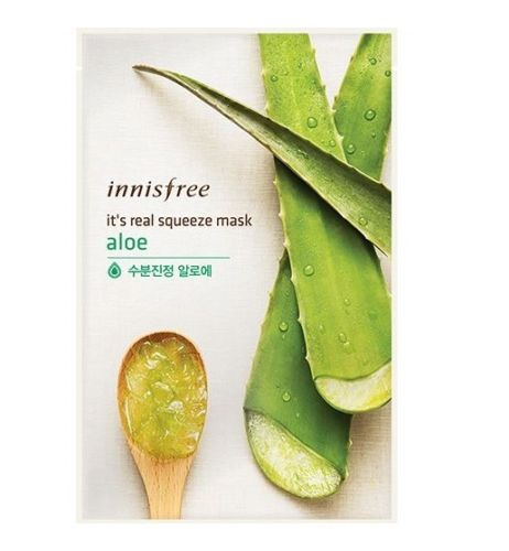 IT'S REAL SQUEEZE MASK ALOE 1PC