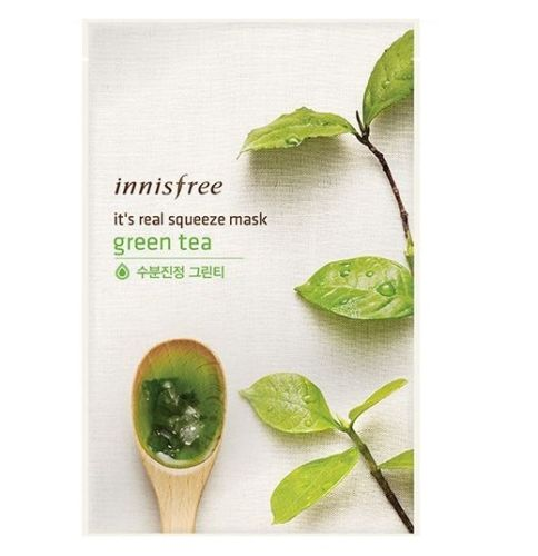 IT'S REAL SQUEEZE MASK GREEN TEA 1PC