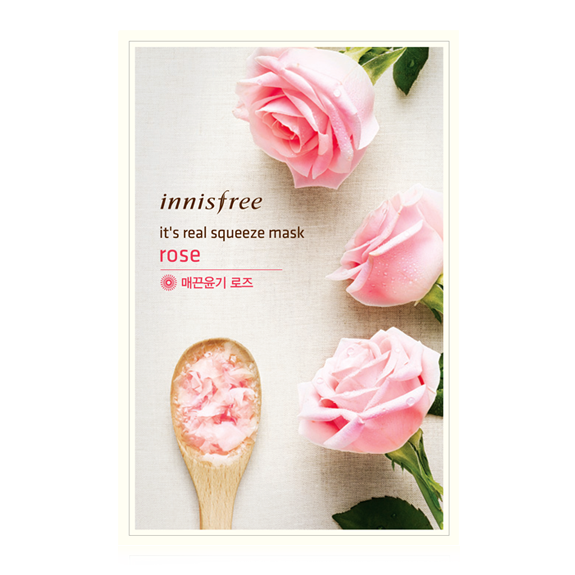 It's Real Squeeze Mask Rose 1pc