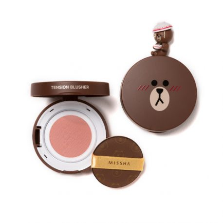 (LINE FRIENDS EDITION) Tension Blusher # CR01 Peach Sorbet