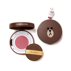 (LINE FRIENDS EDITION) Tension Blusher # CR02 Rosy Dress