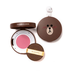 (LINE FRIENDS EDITION) Tension Blusher # PK01 Pink Groove