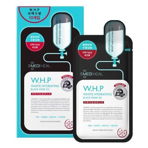 w.h.p white hydrating black mask ex. 10ea