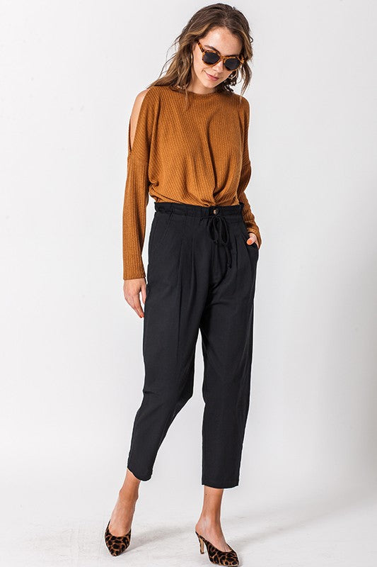 Angelina Trousers in Black