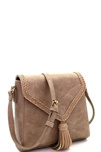 Gina Crossbody in Tan