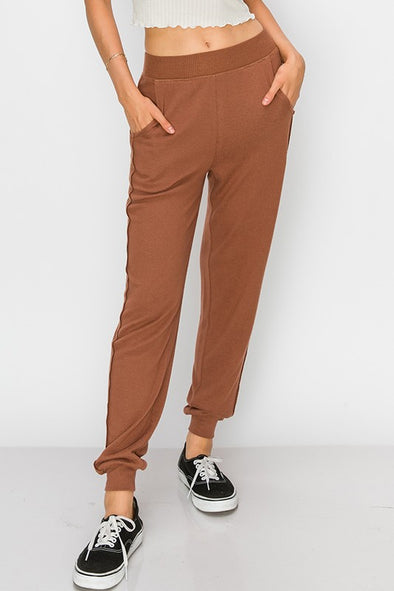 Blake Lounge Joggers in Brown