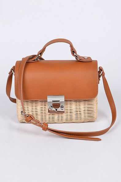 Capri Crossbody Bag in Camel