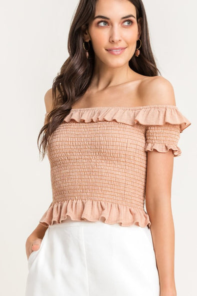 Graceful Smocked Top