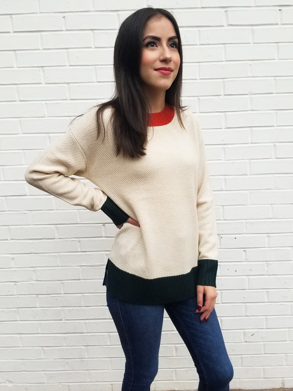 Lucy Textured Sweater