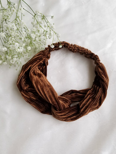 Brooklyn Velvet Headband- 6 Colors!