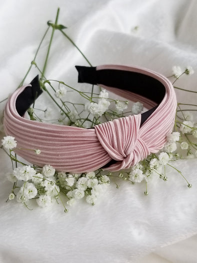 Rosie Pleated Headband- 4 Colors!