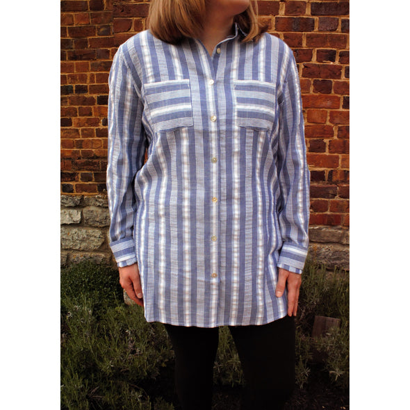 The Perfect Summer Tunic- Final Sale - BLUE ORCHID