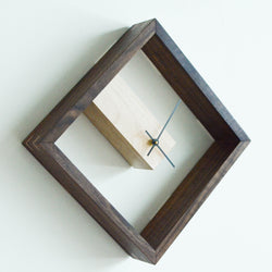 Modern Frame Wall and Table Clock