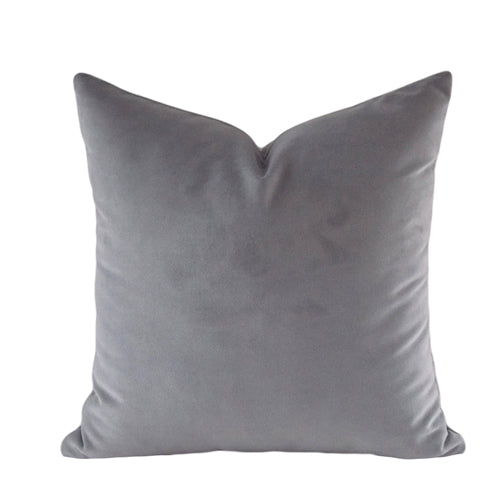 Shades of Grey Velvet Cushion Cover