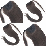 Ponytail Piece Straight Brazilian Virgin hair Jesvia Hair