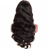 Jesvia hair Full Lace Human Hair Wigs With Baby Hair Brazilian Body Wave