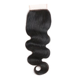 Jesvia Hair Brazilian Virgin hair 4x4 Top Closure Body Wave