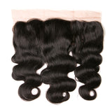 Jesvia Hair Brazilian Virgin Hair 4x13 Lace Frontal Body Wave