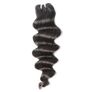 Jesvia Hair Brazilian Virgin hair Loose Deep Wave