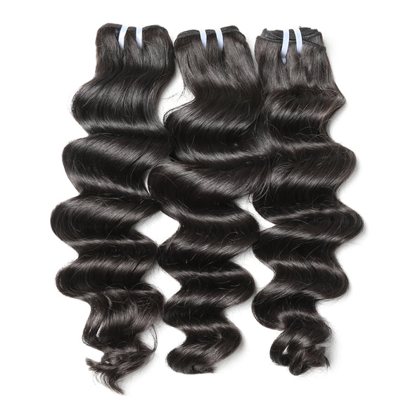 3 Bundles Deal Brazilian Hair Loose Deep Wave Jesvia Hair