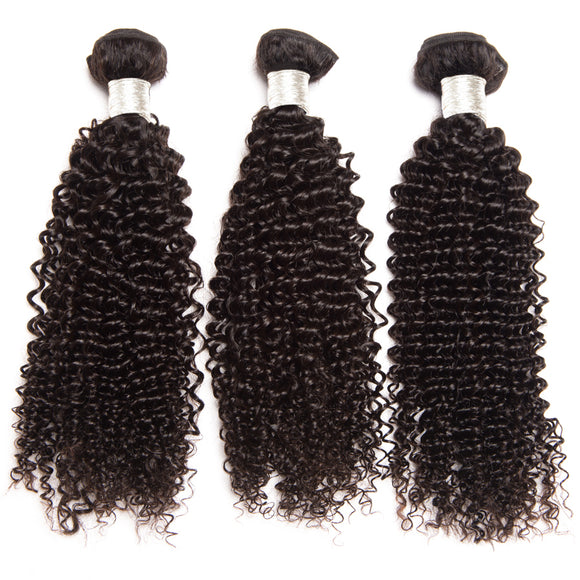 3 Bundles Deal Brazilian Hair Kinky Curly Jesvia Hair