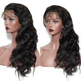 Lace Front Human Hair Wigs Pre Plucked with Baby Hair Brazilian Body Wave--LWB11