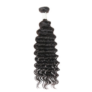 Jesvia Hair Brazilian Virgin hair Deep Wave