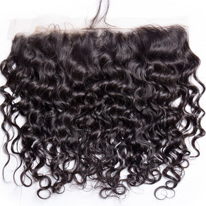 Jesvia Hair Brazilian Virgin Hair 4x13 Lace Frontal Water Wave