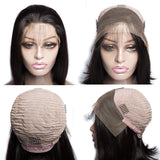 Free Shipping Jesvia Hair Lace Front Bob Wig With Pre Plucked Hairline Straight