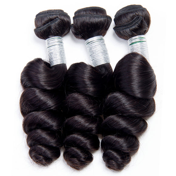 3 Bundles Deal Brazilian Hair Loose Wave Jesvia Hair