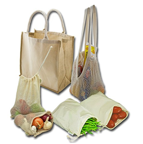 Zero Waste Market Bag Set
